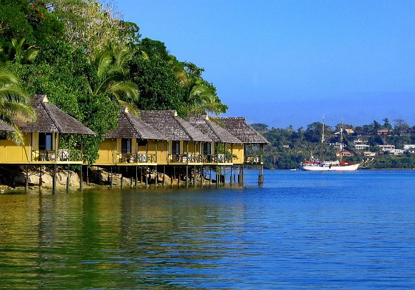 Photos of hotels and resorts in Efate and Port Vila Vanuatu